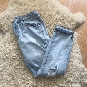 Mossimo Distressed Boyfriend Jeans